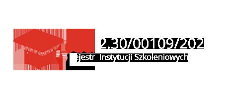 Wpis do Rejestru Instytucji Szkoleniowych - numer 2.30/00109/2021