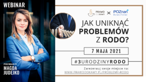 Magda Judejko - Jakunikać problemów z RODO?