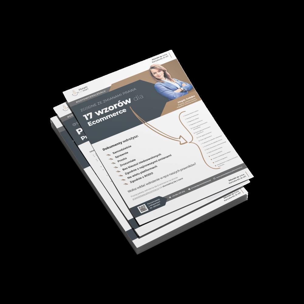 Wzory dokumentów dla Ecommerce